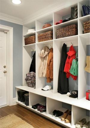 10 ý tưởng thông minh về lưu trữ ở hành lang