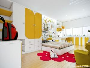 3 mẫu thiết kế phòng ngủ cho những người trẻ tuổi