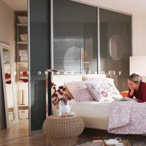 6 cách phân vùng phòng ngủ hẹp cực
