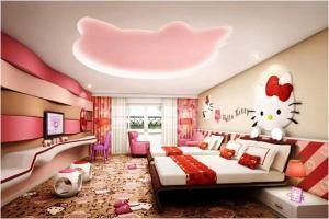 9 mẫu trần thạch cao phòng trẻ em đẹp và dễ thương