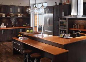 Muôn vẻ bàn bếp cho nhà sang chảnh