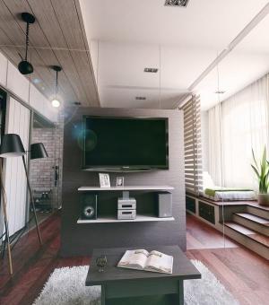 Ngắm căn hộ 21m² cho 3 người có thiết kế không chê vào đâu được