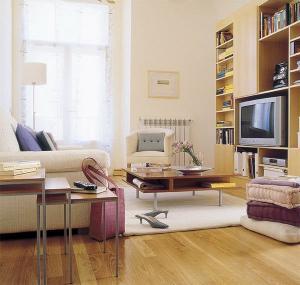 Phân vùng thông minh cho căn hộ 58 mét vuông