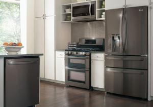 Thêm vẻ sang trọng cho căn bếp với tủ lạnh mặt thép
