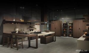 Thiết kế nhà bếp hiện đại theo phong cách Ý của hãng Pedini tại hội chợ Milan 2014