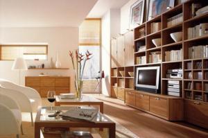 Trang trí phòng khách với những mẫu kệ gỗ vừa đẹp vừa tiện ích