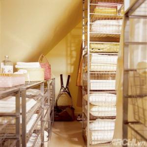 Vách ngăn thông minh, tiết kiệm không gian cho phòng ngủ