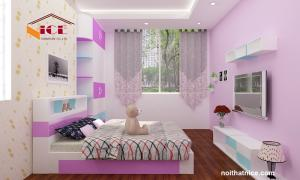 Bộ phòng ngủ chung cư Hạ Đình