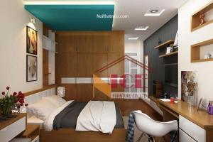 Nội thất phòng ngủ nhà chị Hải