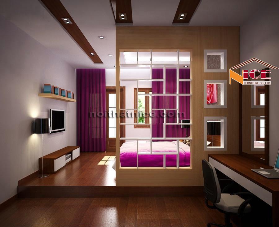 Vách ngăn phòng ngủ và phòng khách VPN3337