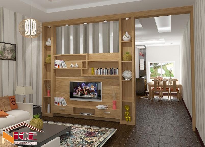Vách ngăn phòng ngủ và phòng khách VTT6724